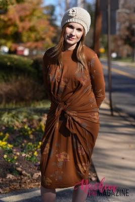 Boho Chic dress tied